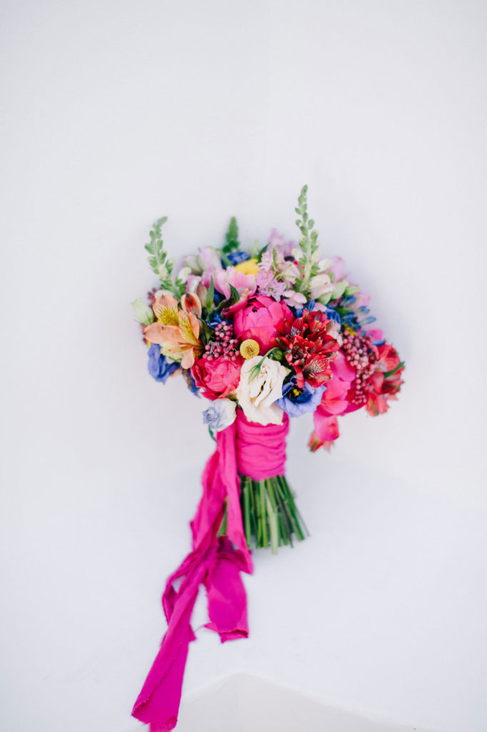 vibrant color bouquet