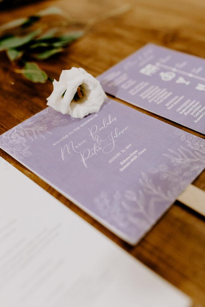 Athens vineyard wedding