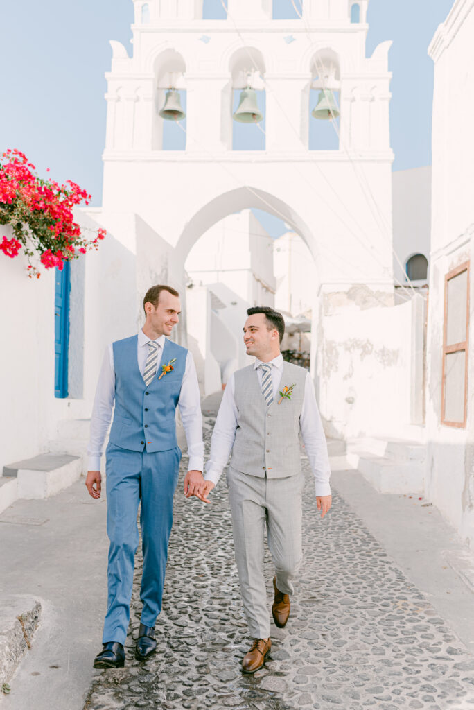 Pride Wedding Santorinic