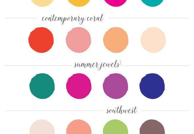 How i will pick my wedding color pallet?