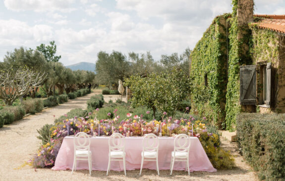 Pastel-Colored Spring Wedding Inspiration with the Most Impressive Floral Centerpiece!